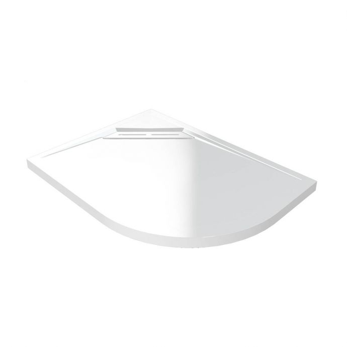 Kudos Connect 2 Slimline Offset Quadrant Shower Tray 1200 x 900mm Left Hand