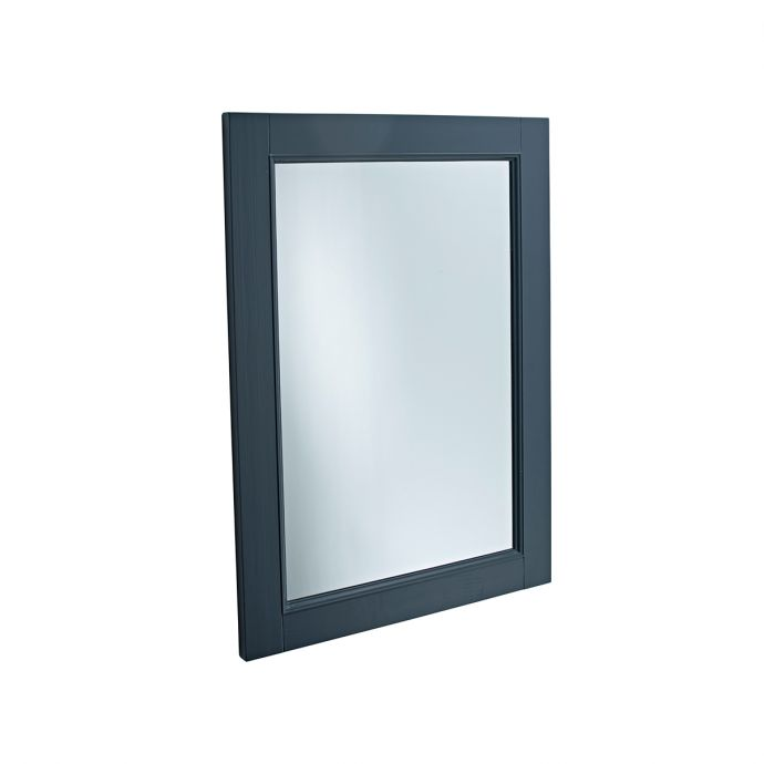 Tavistock Lansdown Wooden Framed Mirror Dark Grey 570 x 800