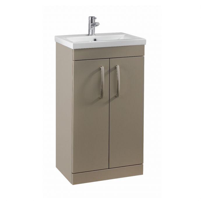 Premier Athena Vanity Unit & Basin Stone Grey 510mm