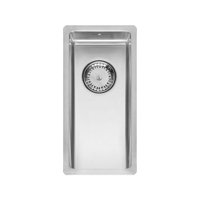 Reginox New York Stainless Steel Kitchen Sink Chrome 220 x 440mm