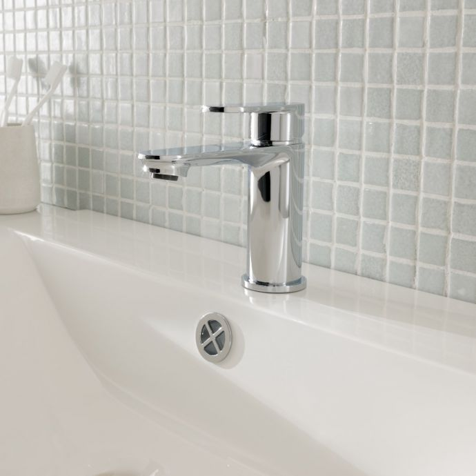 Rhine Basin Mixer with Click Waste