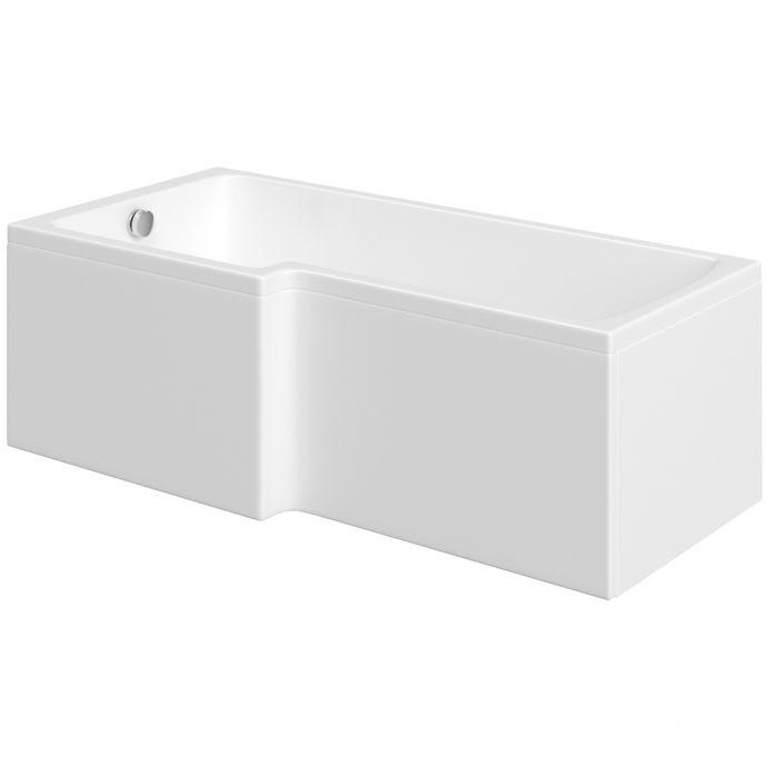 Trojan Elite Acrylic L Shape Shower Bath Panel 1675