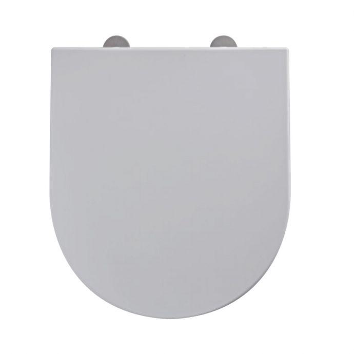 Tavistock Aerial Soft Close Toilet Seat White