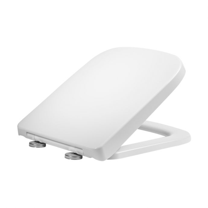 Tavistock Area D Shape Soft Close Toilet Seat White 8905WSC