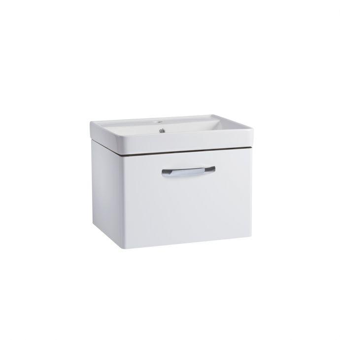 Tavistock Compass Wall Hung Vanity Unit & Basin White 600mm CM600WW CM600C