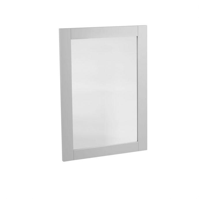 Tavistock Lansdown Wooden Framed Mirror Pebble Grey 570 x 800