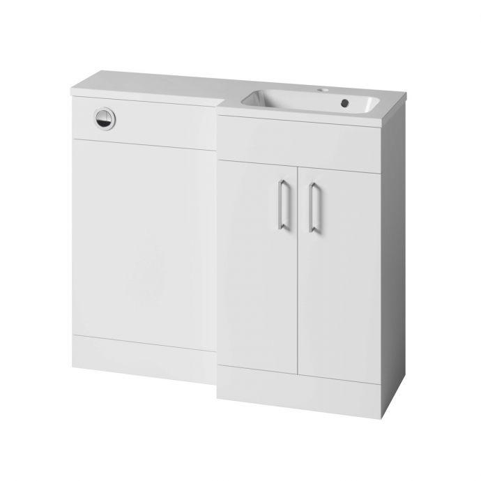 Tavistock Nexus Combination Furniture & Basin White Gloss 1000mm Right Hand