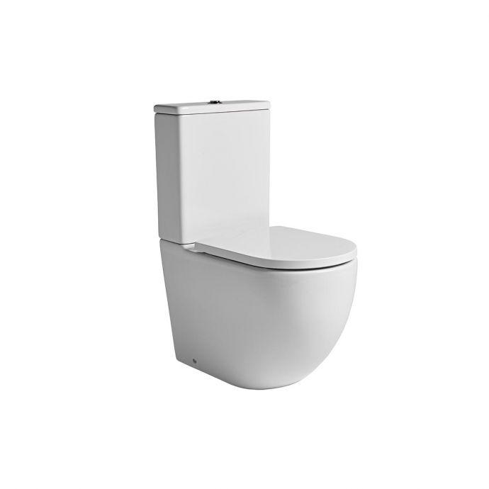 Tavistock Orbit Fully Enclosed Close Coupled Toilet with Soft Close Seat