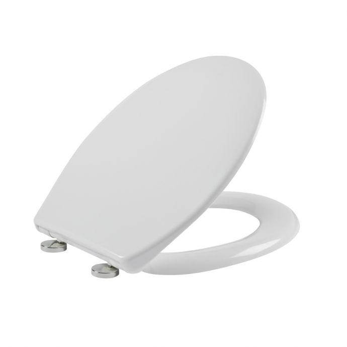 Tavistock Universal Soft Close Toilet Seat White