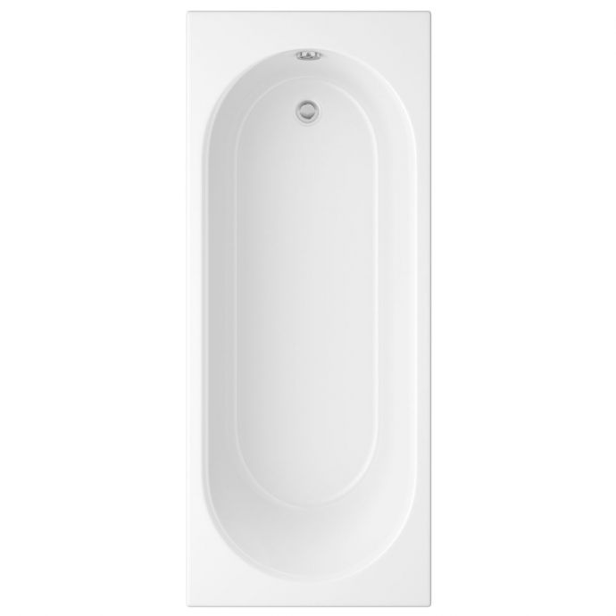 Trojan Cascade Reinforced Single Ended Bath 1700 x 750