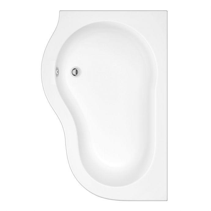 Trojancast Quebec Reinforced Corner Bath 1500 x 1000 with Panel Left Hand