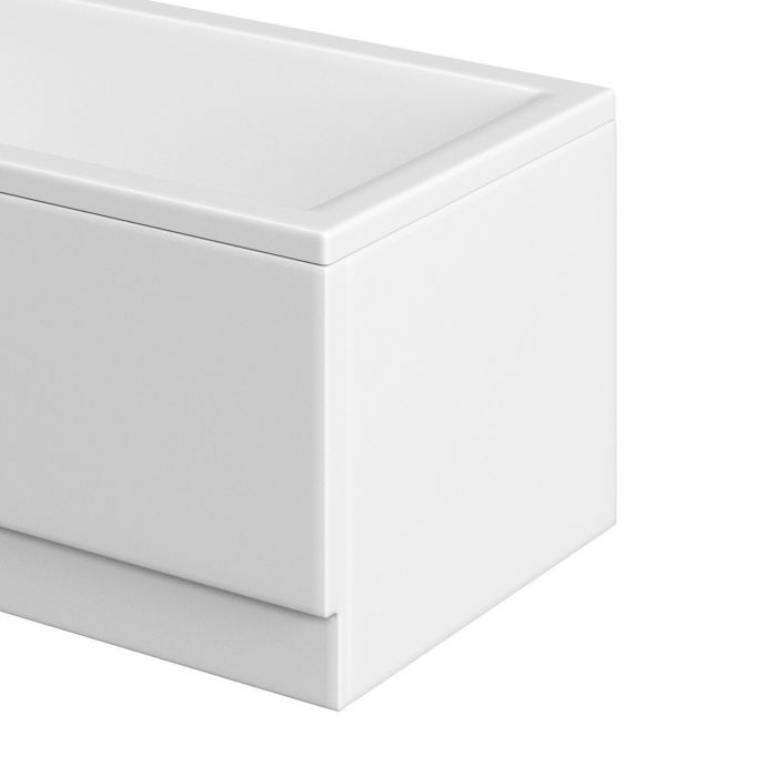 Trojan Supastyle 2mm Acrylic Bath End Panel 700
