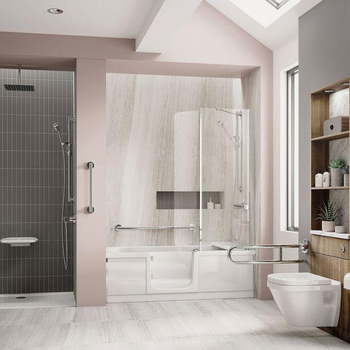 Bathe Easy Style Walk In Bath 1700 x 750 Left Hand