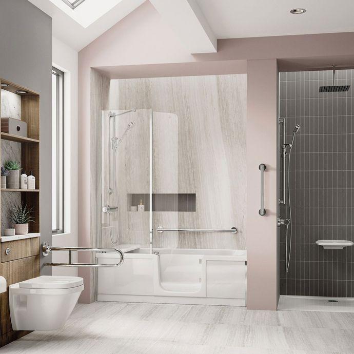 Bathe Easy Style Walk In Bath 1700 x 750 Right Hand