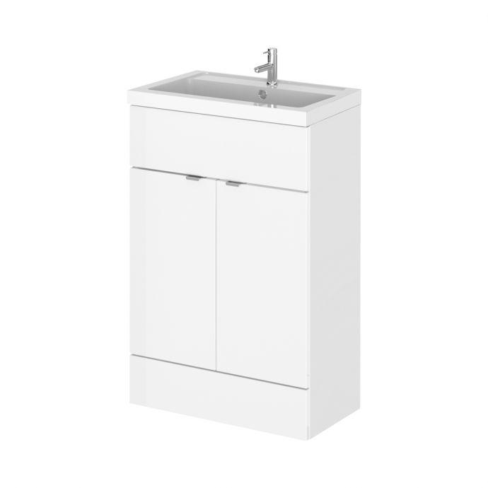 Hudson Reed Vanity Unit & Basin White 600