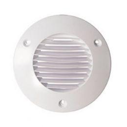 Airflow Round Grill White 150mm 72593102