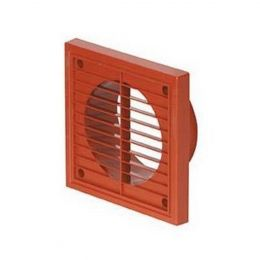 Airflow Square Grill Terracotta 140mm 52641103