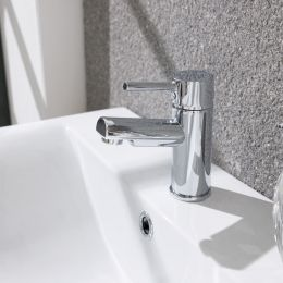 Avon Basin Mixer with Click Waste
