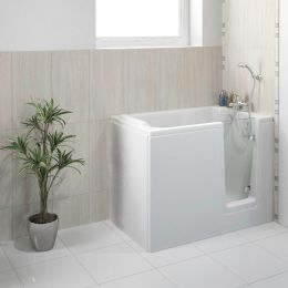 Bathe Easy Deep Soak Walk In Bath 1210 x 650 Right Hand
