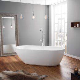 Cayton 1800 x 840 Freestanding Bath room 1
