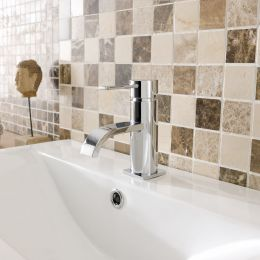 Conwy Mini Basin Mixer with Click Waste