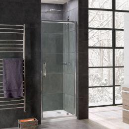 Coral 8mm Pivot Shower Door 900mm