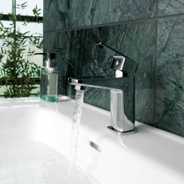 Danube Basin Mixer with Click Waste Lifestyle