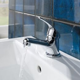 Dee Basin Mixer with Click Waste Lifestyle