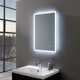 Gleam Ultra Slim LED Illuminated Mirror 500 x 700mm