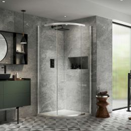 Kudos Pinnacle 8 Quadrant Shower Enclosure 900 x 900mm
