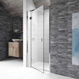 Kudos Pinnacle 8 Hinged Shower Enclosure 760 Left Hand