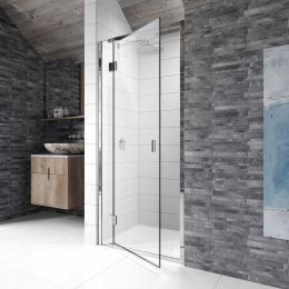 Kudos Pinnacle 8 Hinged Shower Enclosure 800 Left Hand