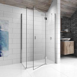 Kudos Pinnacle 8 Hinged Shower Enclosure 800 x 800 Right Hand