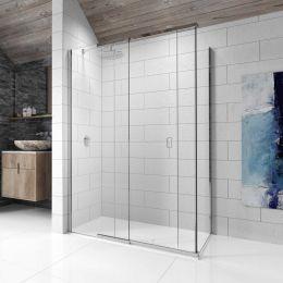 Kudos Pinnacle 8 Sliding Shower Enclosure 1000 x 700