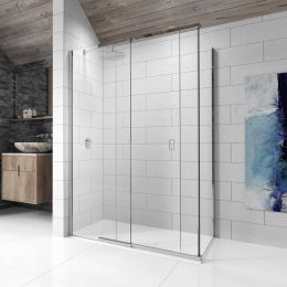 Kudos Pinnacle 8 Sliding Shower Enclosure 1500 x 760