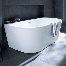 Langland Freestanding Double Ended Bath 1700 x 800 with Waste