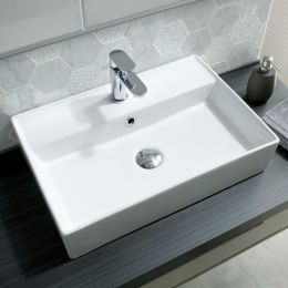 Molly 1 Tap Hole Freestanding Square Basin 560mm