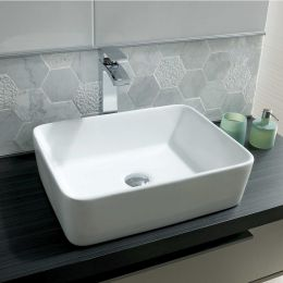 Lucy Freestanding Square Basin 480mm