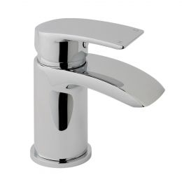 Medway Mini Basin Mixer with Click Waste