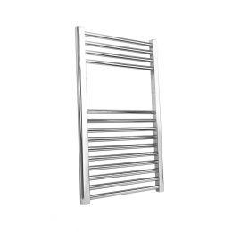 Reina Straight Towel Radiator Chrome 800 x 600