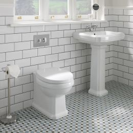 Get £70 Off For Oxford Back To Wall Toilet with Soft Close Seat105.00