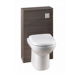 Premier Athena Back To Wall Toilet Unit Grey Avola 500mm