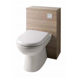 Purity Back To Wall Toilet Unit Oak 500mm