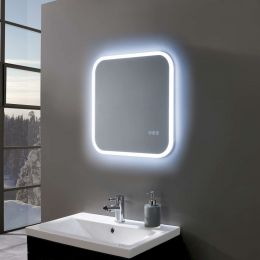 Radiance Ultra Slim Square LED Illuminated Mirror 600 x 600mm