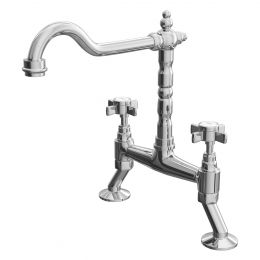 Reginox Keswick Kitchen Mixer Tap Chrome