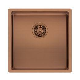 Reginox Miami Stainless Steel Kitchen Sink Copper 440 x 440mm