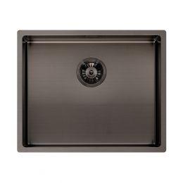 Reginox Miami Stainless Steel Kitchen Sink Gun Metal 540 x 440mm