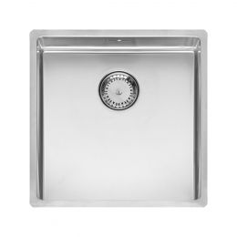 Reginox New York Stainless Steel Kitchen Sink Chrome 440 x 440mm