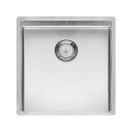 Reginox New York Stainless Steel Kitchen Sink Chrome 440 x 440mm