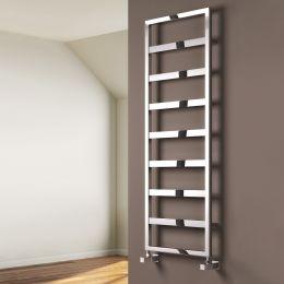 Reina Rezzo Steel Designer Towel Radiator Chrome 450 x 740mm